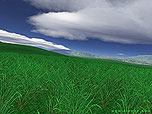 Green Fields wallpaper. Click to enlarge