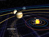 Solar System 3D screensaver screenshot. Click to enlarge