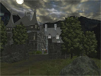 Dark Castle 3D screensaver screenshot. Click to enlarge