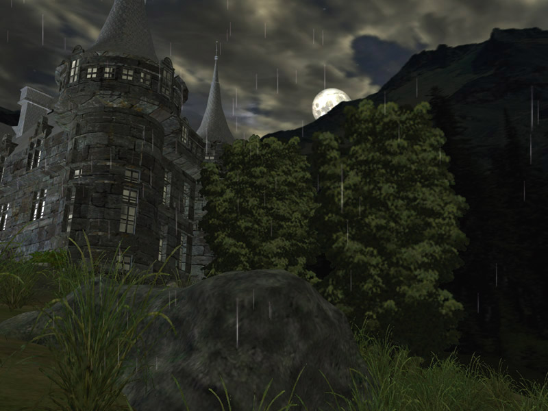 Dark Castle 3D screensaver full screenshot