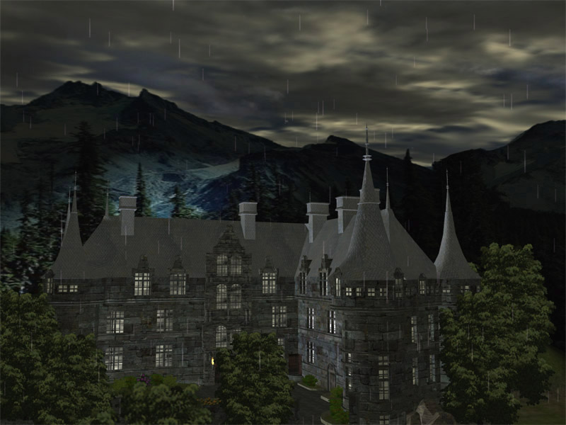 Dark Castle 3D screensaver v1