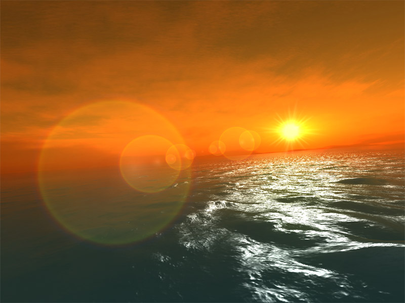 Screenshot of Fantastic Ocean 3D screensaver