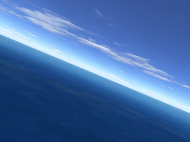 Sit back and relax as you fly slowly over the waves on a calm summer day! Screen Shot