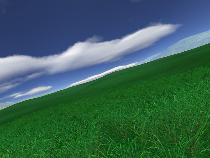 Green Fields Screensaver - Have a rest in the outdoors with Green ...