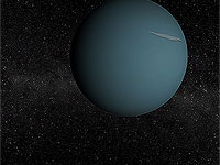 Solar System - Uranus 3D screensaver screenshot. Click to enlarge