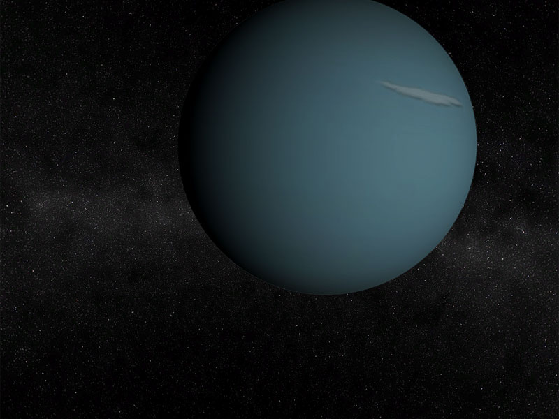 A nice free screensaver with a magnificent view of Uranus from a near orbit