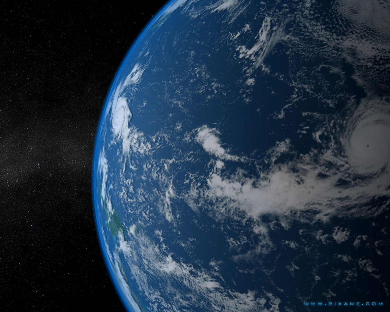 Earth In The Solar System - Pics about space